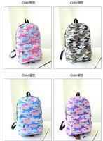 New 2014 Casual Colorful Canvas Backpacks Girl Lady Student School Travel bags Mochila Bookbag Rucksack Hiking Camping bag