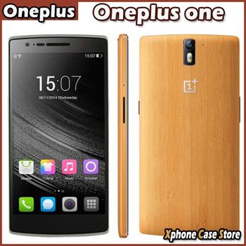 Nfc OTC 4 г OnePlus один бамбуковые версия 3 ГБ + 16 / 64 ГБ андроид 4.4 четырехъядерных процессоров 2.5 ГГц 5.5 '' FHD 1920 x 1080 13MP сотовые телефоны FDD-LTE WCDMA GSM