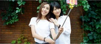 Free Shipping Extendable Wireless Bluetooth Mobile Phone Monopod For Samsung,iPhone 5S