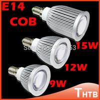 9W 12W 15W 5X High power 85-265V GU10 MR11 MR16 E27 E14 COB LED lamp light led Spotlight Cool/Warm white led lighting
