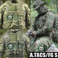 Military Vest Molle Tactical Airsoft Vest Army fans amphibious vests A-TACS FG Color PRO MOLLE VEST