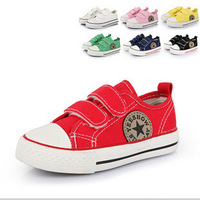 2014 New Spring kinds Shoes Five Color Size25-37 Children Sneakers Children Canvas Shoes Girl Boy Student Shoes Brand Shoes
