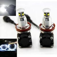 2PCS X White CREE H8 40W LED MARKER Standlicht Angel Eyes E92 E60 E63 F01 E70 E71 X5 X6