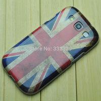 20pcs Brand New Retro Union Jack UK British Flag Pattern TPU Gel Soft Back Case Cover For SamSung Galaxy S3 i9300