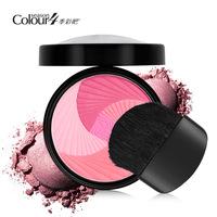 2014 hotsell 5 color nude makeup wholesale authentic repair Yan blush rouge makeup