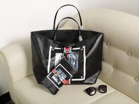 Free Shipping Top PVC Women Brand Handbag Shopping Bag Designer Lady Fashion Shoulder Tote Bags 39*33*18 cm