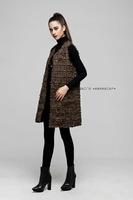 women vest 2014 new fashion sleeveless casual cardigans open stitch coat  wholesale long women coat free shipping