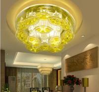 5W modern crystal ceiling light home hallway lighting fixtures plafon led spot lighting AC85-265V cool white/warm white