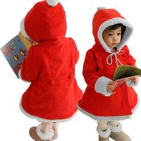 Fashion For ChildrenWinter Trendy Girls Fleece Hoodie Coat Jacket Snowsuit Outwear Free&Drop Shipping