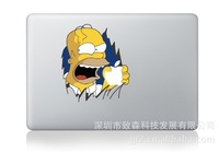 Free shipping Simpson Decal Sticker for MacBook Decals Stickers Macbook Pro / Air 13 inch Laptop Case Cover Cartoon Skin