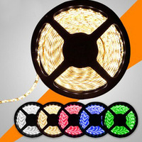 Free Shipping! 1PC Guaranteed 100% New 5M Non-Waterproof 5050 SMD 60 LEDs/M LED Strip String Flexible Light