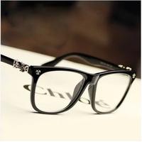 Fashion brand D metal Glasses Men 2014 steampunk cross glasses Clear Lens Nerd eye glasses frames Oculos. d7