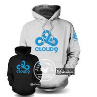 DOTA2 cloud9 Gaming cardigan man hoody DOTA2 WCG Sweater Men's Outwear hoodies men Casual sweatshirt pullover