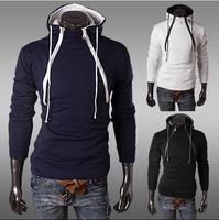 Free shipping 2014 Fashion New Hoodies Sweatshirts Men Outerwear Zipper Hoodies Clothing Men.Sports Suit,Drop Drop shipping
