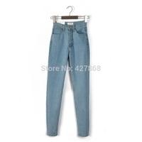 boyfriend jeans for women 2014 new AA  fashion high waist women jeans vintage women pant pencil pant  free shipping