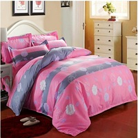 Textile sanding four piece set reactive printing of cotton four set bedding special