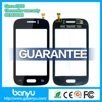 (Banyu free shipping) 100% brand new black display for samsung S6310 touch screen digitizer