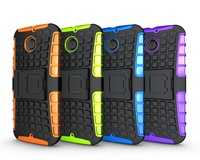 Wholesale Case For moto x+1 case 1000pcs  2 in 1  TPU + PC Stand Holder Robot Combo Cell Phones Case