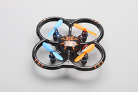 For Children Toy U207 6 Axis Gyro RC Helicopter 4CH Radio Controll mini Quadcopter UFO Toys w/ LED Lights Black/Orange Color