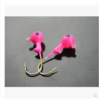 2014 20pcs/lot High Quality Jig Head Hook Fishing Lure Hooks Pesca 3.5g wholesale
