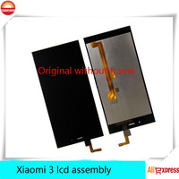 100% original new  for  xiaomi 3 mi3 i m3 LCD Digitizer display Assembly touch screen without frame