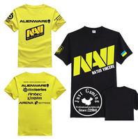 TOP quality New 2014 summer men students T shirts game CS Dota 2 NAVI TEAM o-neck cotton personality plus size fashion t-shirts