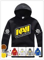 NAVI Natus Vincere Game Team white & yellow men hooded sweatshirt spring& autumn coat men's fleece PRO gamer hoode
