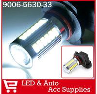 2PCs Auto Fog Light 5730 33SMD 9006 HB4 LED Car Driving Light Lamp Bulb Xenon White