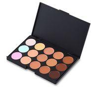 New Professional Nake 15 Colors Concealer makeup Palette Camouflage / Concealer for face eyeshadow Palette