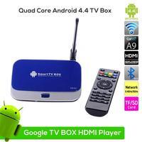 CS918II Quad Core Android TV Box cs918 Google Android 4.4 RK3288 Cortex-A17 RJ45 2GB/8GB with MIC WiFi 1080P DLNA Miracast