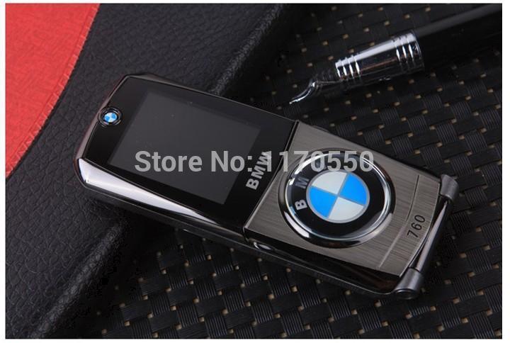 2014 Hot classic luxury Flip Metal 760 Car personalized mobile ,unlocked dual sim dual standby , Multi-language Mini gift phone(China (Mainland))