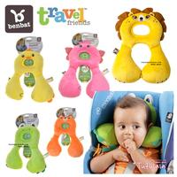 Benbat baby total support headrest 1-4 years old Cartoon animal design baby/child Neck Pillow travel U Pillow Neck rest