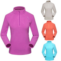 2014 Winter Women Outdoor Long Sleeve Clothing Windproof Coat Free Shipping Sport Camping Hiking Overcoat Thermal Fleece Jacket