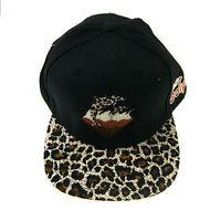 2014 the new Pink Dolphin Leopard Leopard grain HipHop Adjustable Snapback Style sports Baseball Hat sun cap
