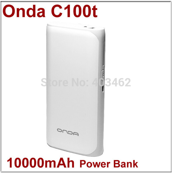 Onda C100t 10000mah portable power bank charge treasure smart mobile phone general tablet pc Free Shipping(China (Mainland))