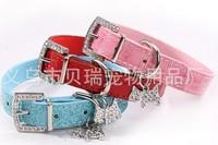 Free Shipping 10pcs/lot Crocodile strap pet dog collar leash