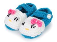 Soft sole handmade yarn baby toddler shoes baby first walker baby boy girl toddler newborn baby footwear Free shipping