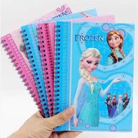 Frozen Notebook Princess Frozen Elsa & Anna Books Coil Notebooks for Student Gift 20.5*14.5cm