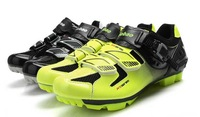2014 Hot Sale Tiebao Profession athlete Cycling shoes bicycle shoes mtb mountain bike Auto-lock Shoes For Men Women FreeShipping