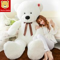 Teddy bear Super Big Size 160CM Plush Bear Christmas Birthday gift High quality Low price Plush toys embrace bear
