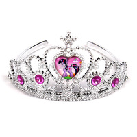 NEW MY Little Pony Tiaras Party Headwear For Girls Cartoon Pony Crown Children Christmas Gift 13*7.5cm 20pcs/Lot Free Shipping