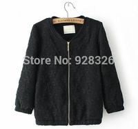 European and American women's classic jacquard jacket / ladies new short jacket