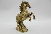 Chinese Bronze Statue Chinese China Folk Culture Handmade Brass Bronze Statue Lucky Horse Sculpture On Sale!
