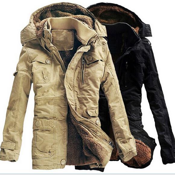 hot sale 2014 winter jacket men outdoors thick warm fleece parkas men warm wadded outdoors jackets and coats(China (Mainland))