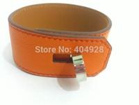 big size green grey blue luxury 100%  authentic wholesale new fashion bracelet  jewelry   leather design bangle