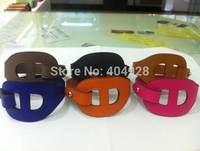 leather bangle luxury 100%  authentic wholesale new fashion bracelet  jewelry   leather design bangle
