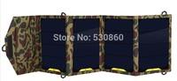 Dual USB port high flexible solar panels 16W 5V Portable Power Charger
