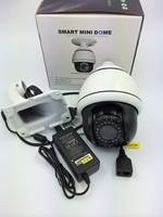 "4"" inch 2.0 megapixel 12x optical zoom mini ptz ip camera  DHL free ship"