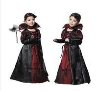 Halloween childrens vampire Costume Prom Queen costumes masks vicious emperor costume