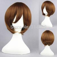 32cm The Prince of Tennis Cosplay hair Axis Powers Hetalia Wigs VOCALOID Sekai Ichi Hatsukoi Synthetic Wig Sekai Ichi Hatsukoi